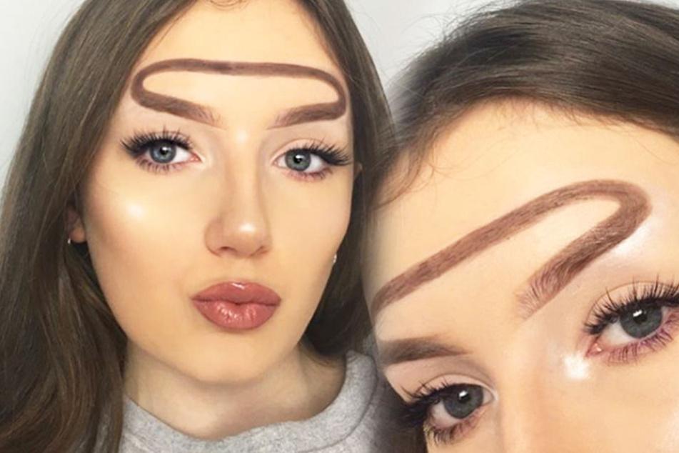 Was hat die denn auf der Stirn?