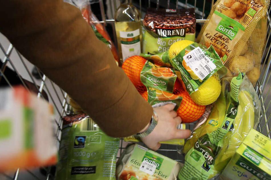 Verschiedene Bio-Produkte: Gütesiegel können in Zukunft als Marke geschützt werden. (Archivbild)