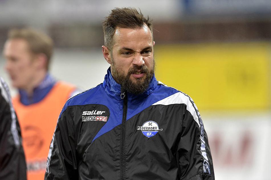 Sebastian Heidinger beim Test gegen den BVB.