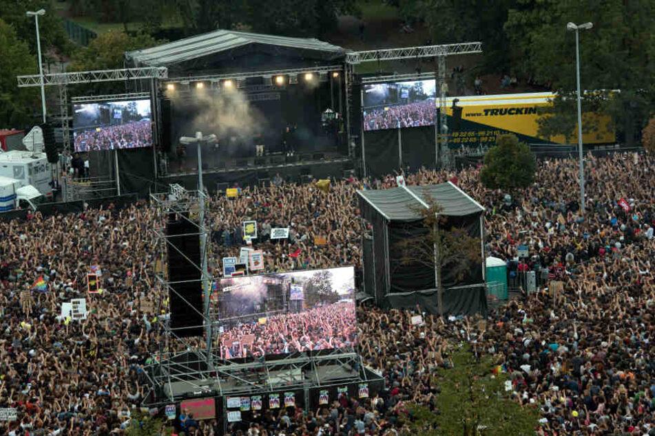 Chemnitz plant Fortsetzung des Anti-Rechts-Konzertes #wirsindmehr
