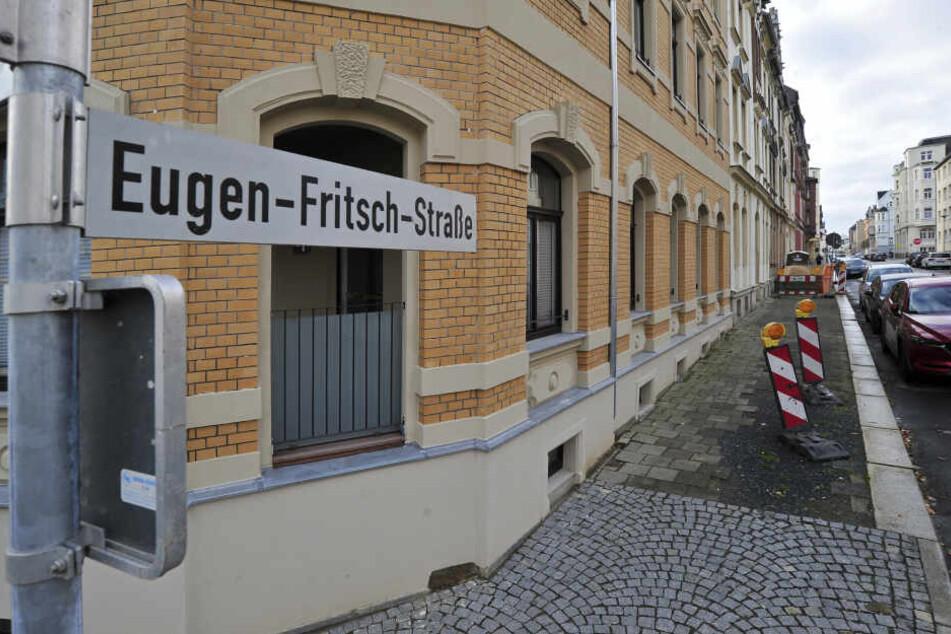 Die Tat passierte in der Eugen-Fritzsch-Straße in Plauen.