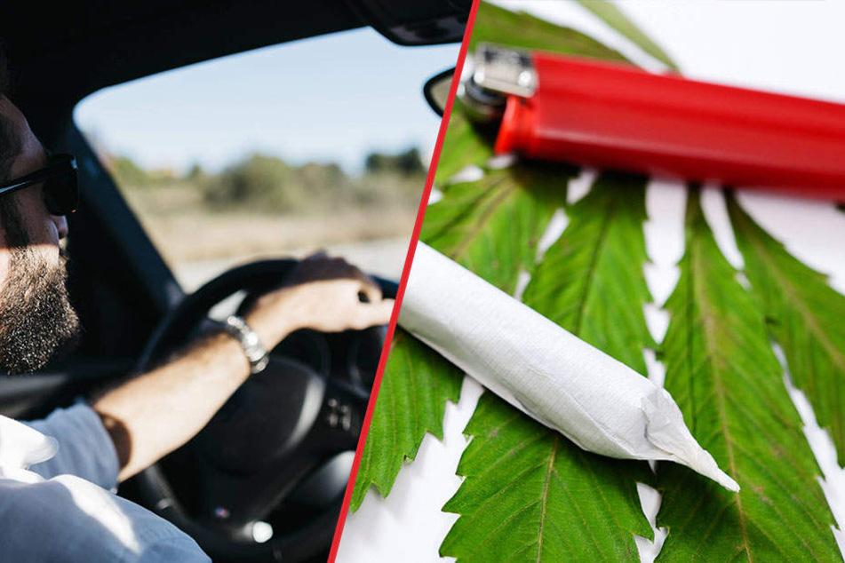 Drogen beim Autofahren sind keine gute Idee!