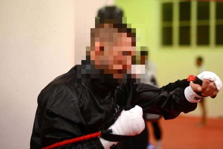 """Der 30-Jährige Kickboxer dürfte mit einem """"blauen Auge"""" davongekommen sein."""