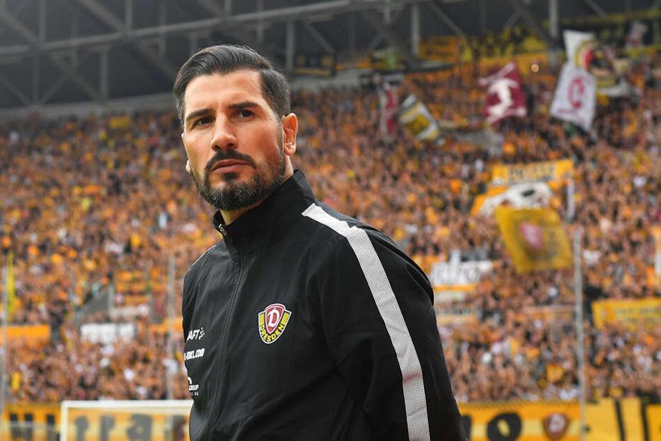 Ruhig und besonnen wirkt der Ex-Profi. Christian Fiel wird das Dynamo-Training ab Donnerstag, den 28. Februar, übernehmen.