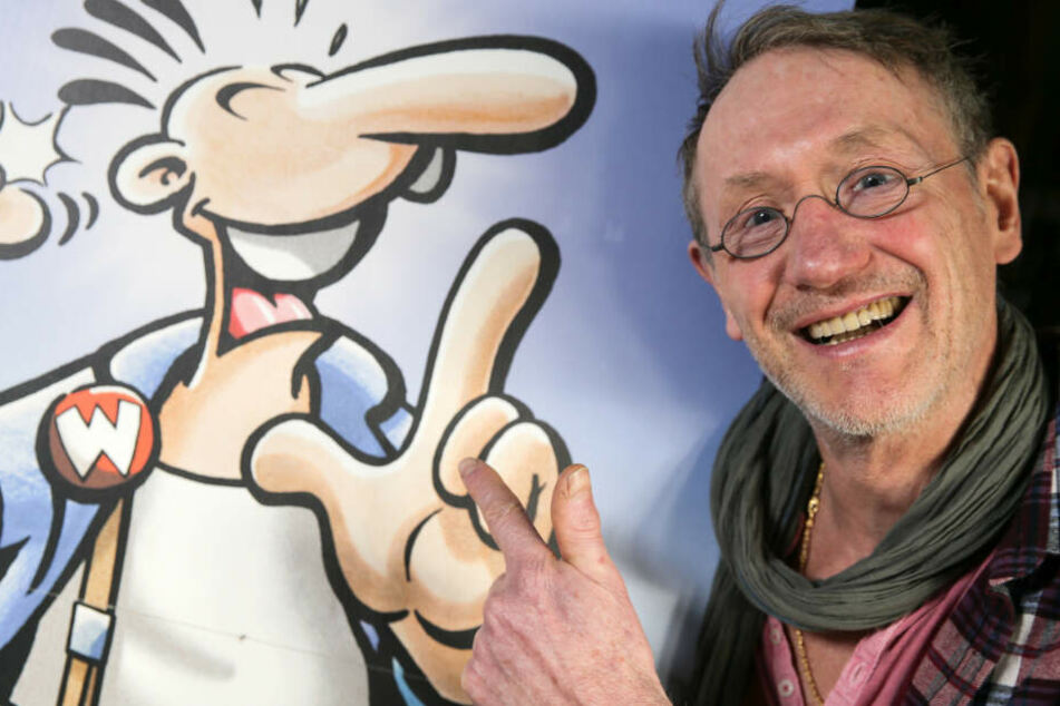 """Der Comiczeichner Rötger Feldmann alias Brösel ist Erfinder der beliebten Figur """"Werner""""."""