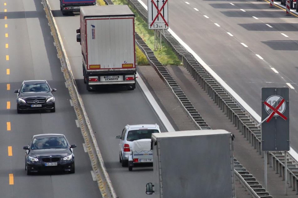Dresden: Er fuhr Schlangenlinien! Polizei erwischt Lkw-Fahrer auf A4 mit hohem Promille-Wert