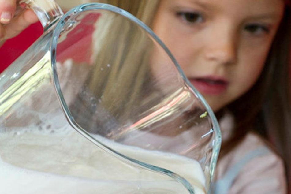 Milch macht müde Männer munter - auch die kleinen. Ziel des Schulprogrammes  ist es, Kinder an ein gesundes Ernährungsverhalten heranzuführen