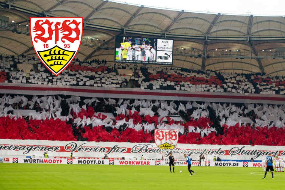 Es wird ruhig in der Mercedes-Benz Arena: VfB-Fans streiken bei Heimspiel gegen Augsburg