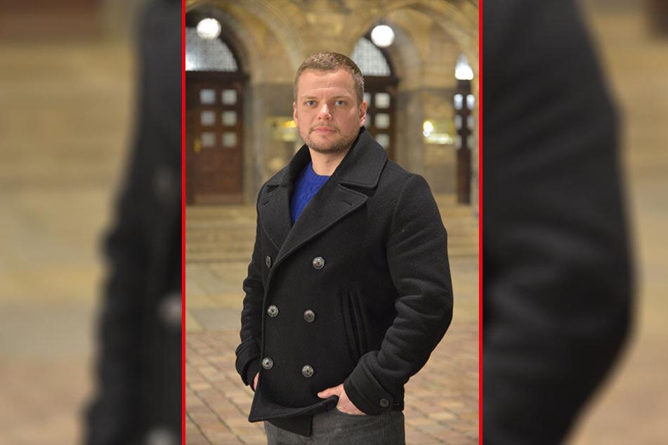 Mehr Polizei und Ordnungsdienst statt Sozialarbeiter: Michael Specht (33).
