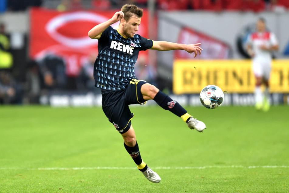 Louis Schaub spielt zuvor im Trikot des 1. FC Köln, ist nun aber an den HSV ausgeliehen. (Archivbild)
