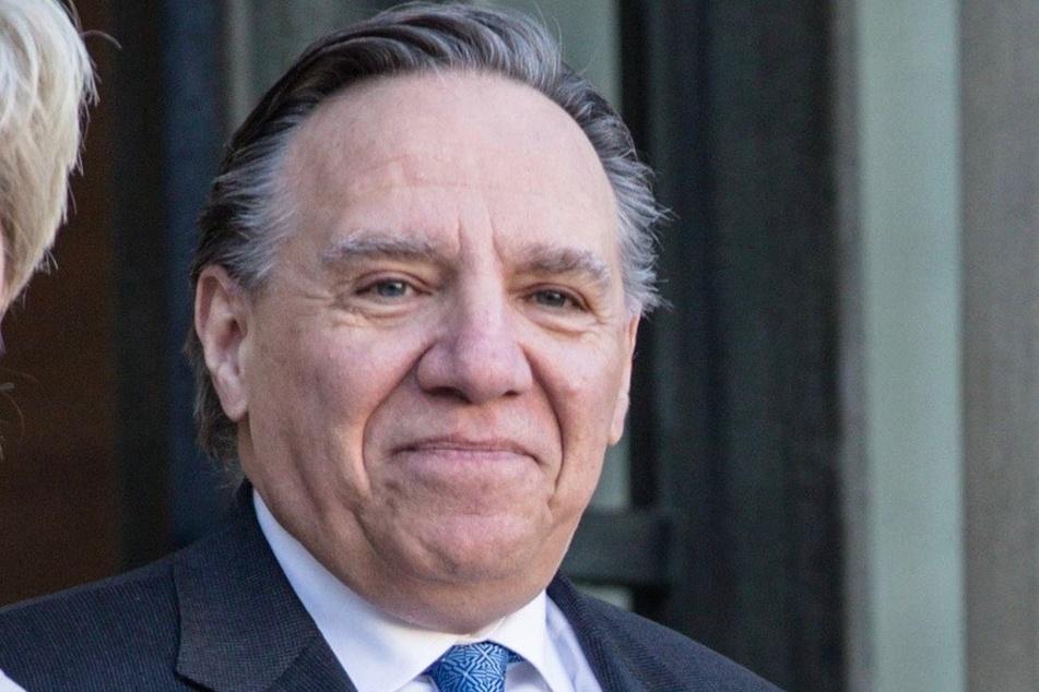 Quebec Premier Francois Legault (63).