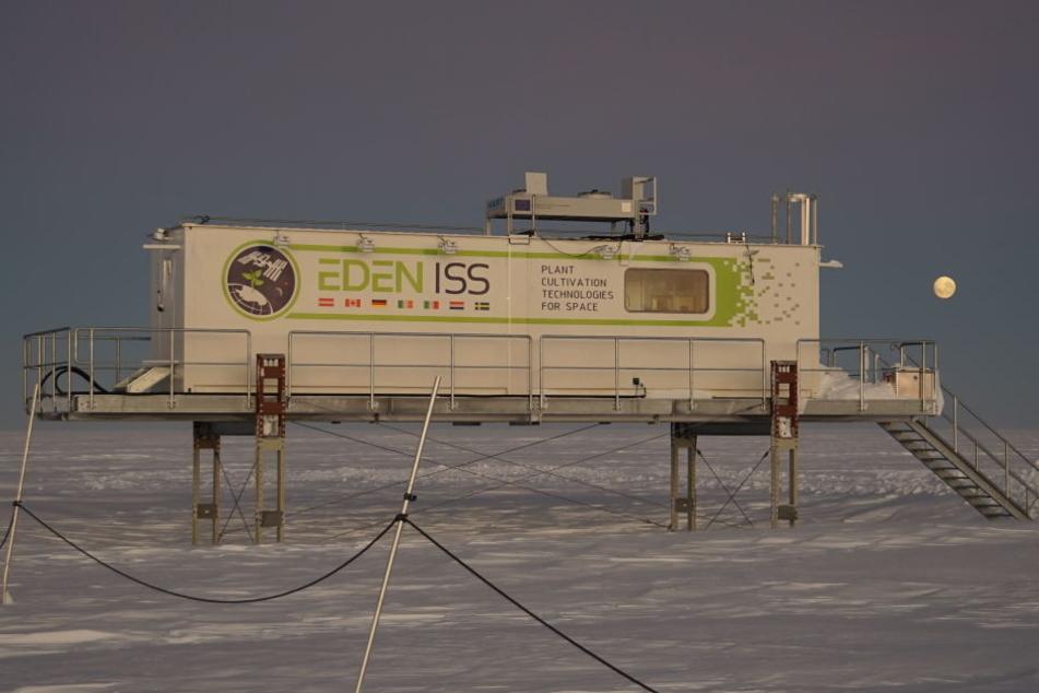 Die extreme Kälte fordert vor allem die Technik.