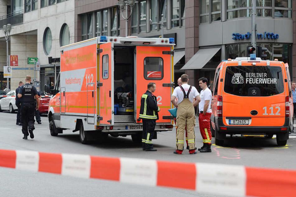 Großeinsatz für die Feuerwehr: Brand im U-Bahntunnel am Westhafen ausgebrochen