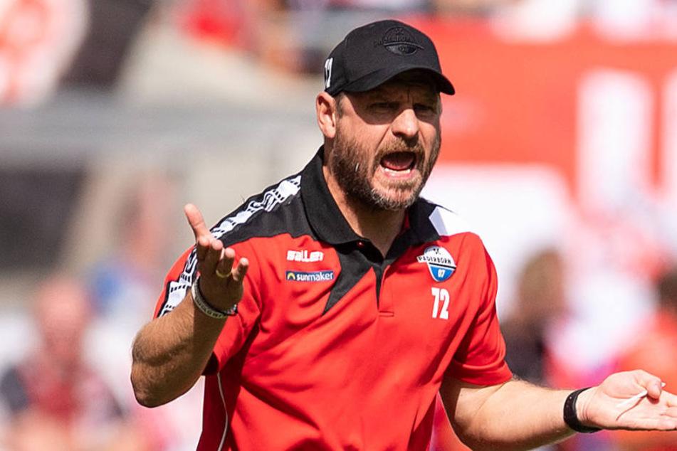 Auch gegen den FC Ingolstadt hat Steffen Baumgart (46) einen Plan.