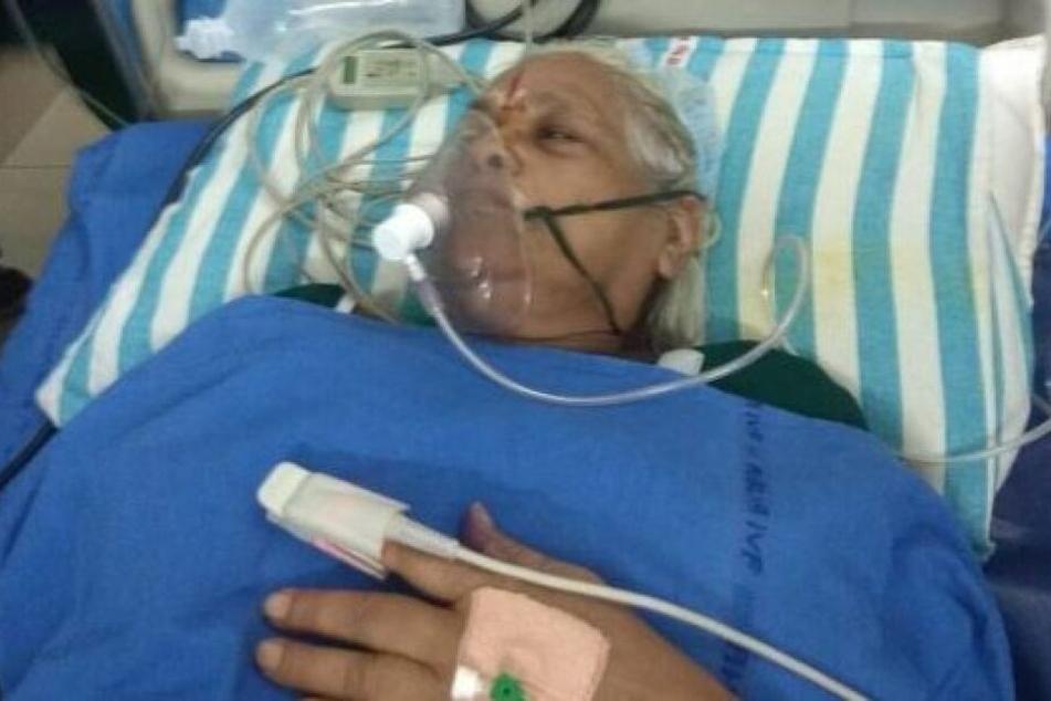 Der 73-jährigen Erramatti Mangayamma soll es gut gegangen sein nach der Geburt.