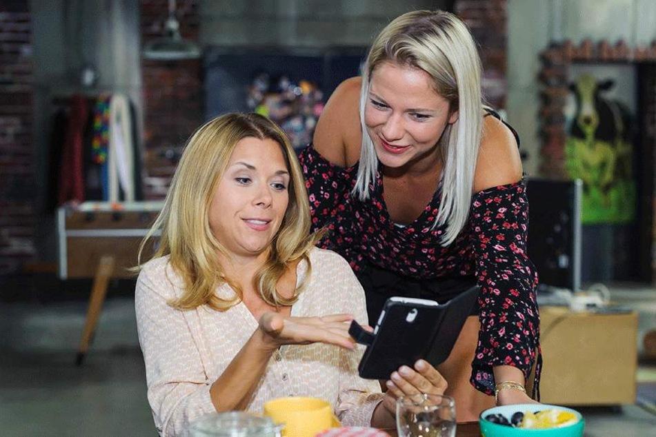 """In """"Alles was zählt"""" spielt Cheyenne schon an der Seite von Eislaufstar Tanja Szewczenko (40). Ob sie sich nach Drehschluss ein paar Tipps holte?"""