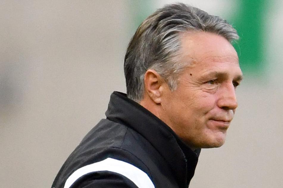 Dynamo-Trainer Uwe Neuhaus.
