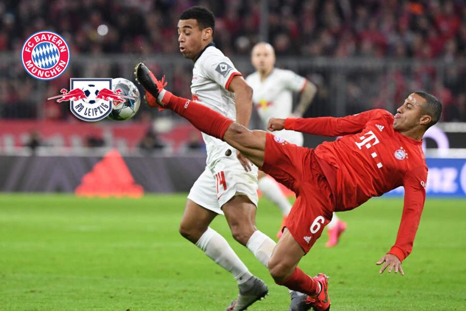 FC Bayern gegen RB Leipzig: Kein Sieger im Spitzenspiel