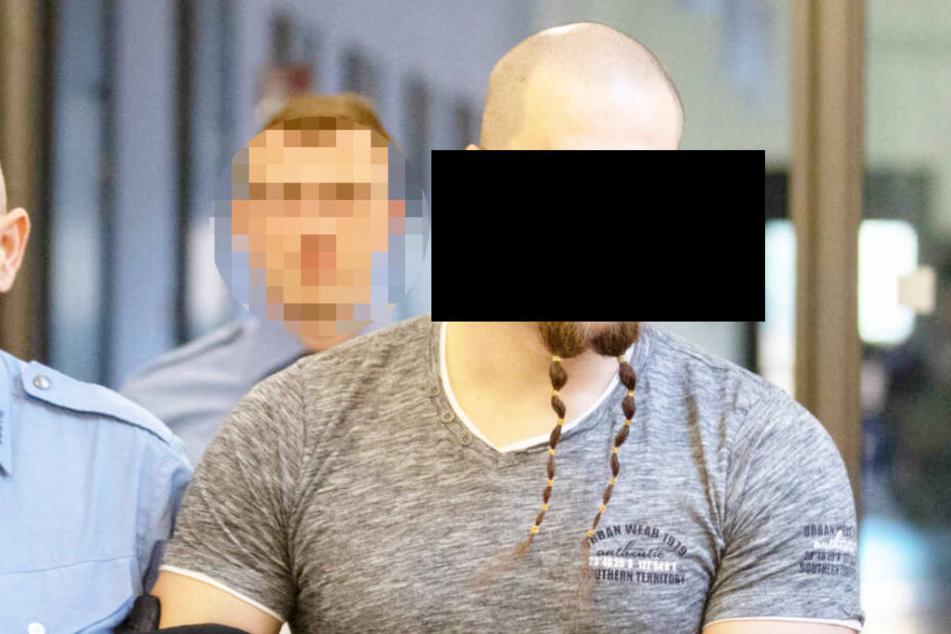 Der mutmaßliche FKD-Rädelsführer Benjamin Z. (29).