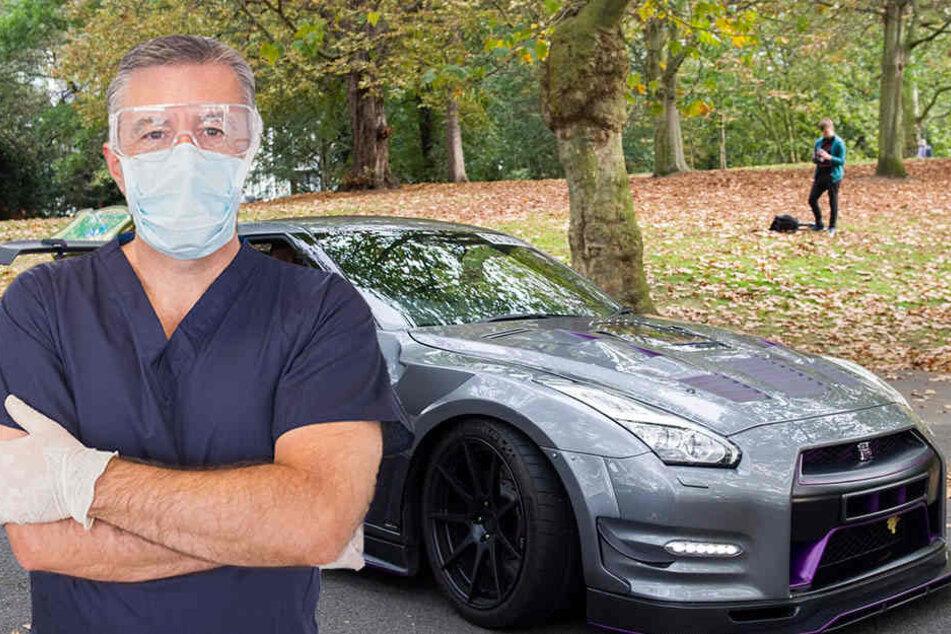 Mit einem Nissan GTR wollte der Zahnarzt seinen Sohn zu guten Noten bewegen. (Symbolbild)