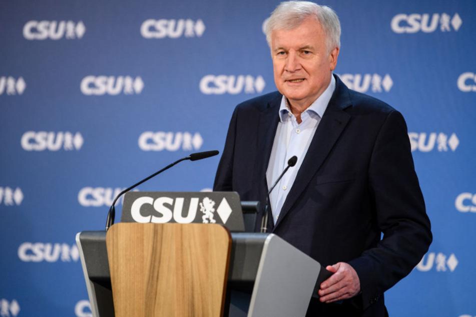 In der CSU war Horst Seehofer bereits seit langer Zeit nicht unumstritten. (Archivbild)