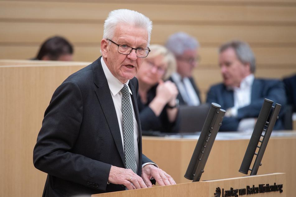 Baden-Württembergs Ministerpräsident Winfried Kretschmann (71). (Archivbild)
