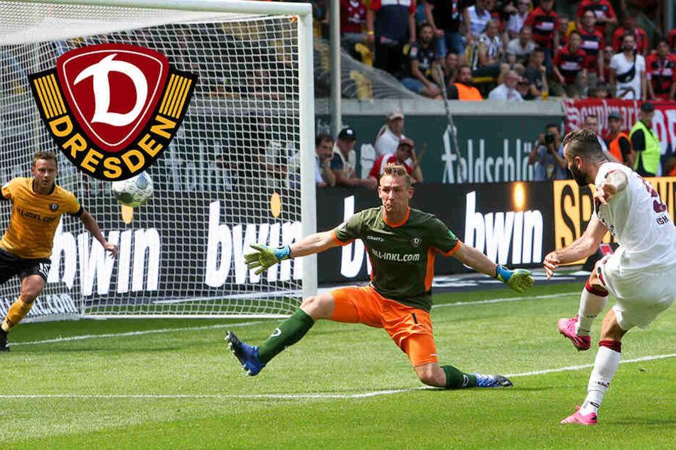 """Dynamo-Keeper Broll kann's auch mit dem Fuß: """"Das ist absolut mein Ding"""""""