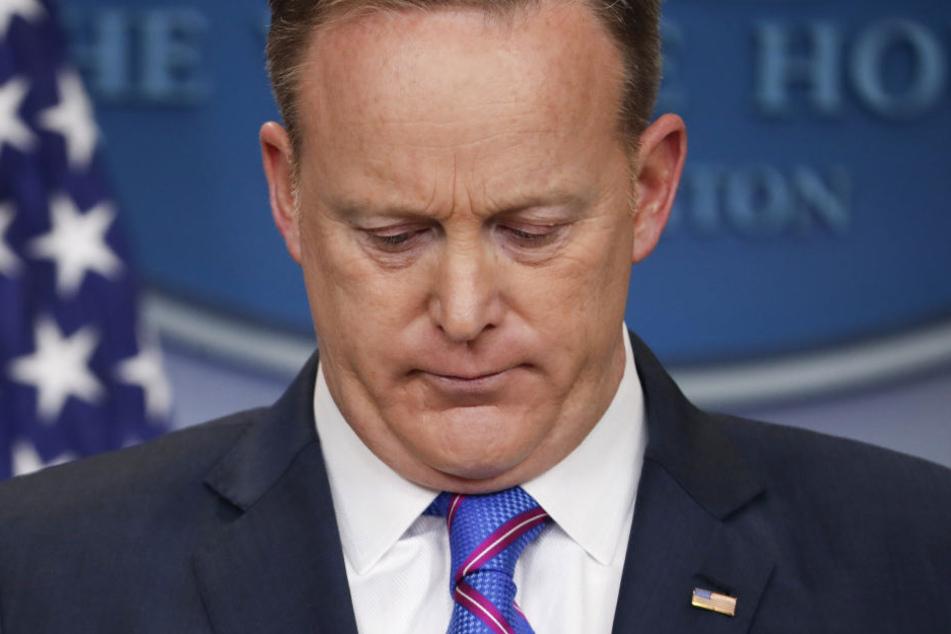 Sean Spicer (45) ist am Freitagmorgen (US-Zeit) zurückgetreten.