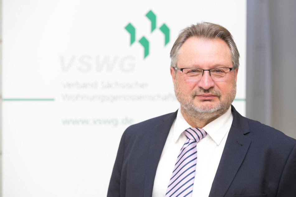 Verbands-Chef Axel Viehweg (63): Viele Sachsen können sich keine hohen Mieten  leisten