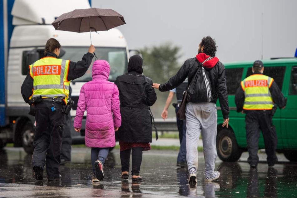 Großschleusung bei Pirna! Dutzende illegal eingereiste Personen gefasst