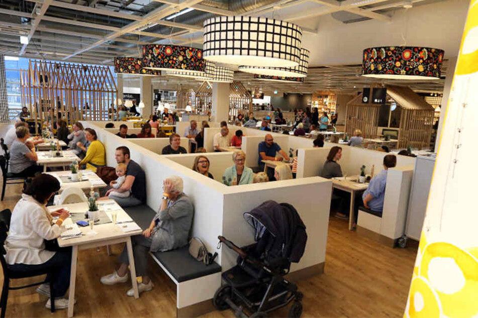 So stylish sieht das aufgemöbelte IKEA-Restaurant aus