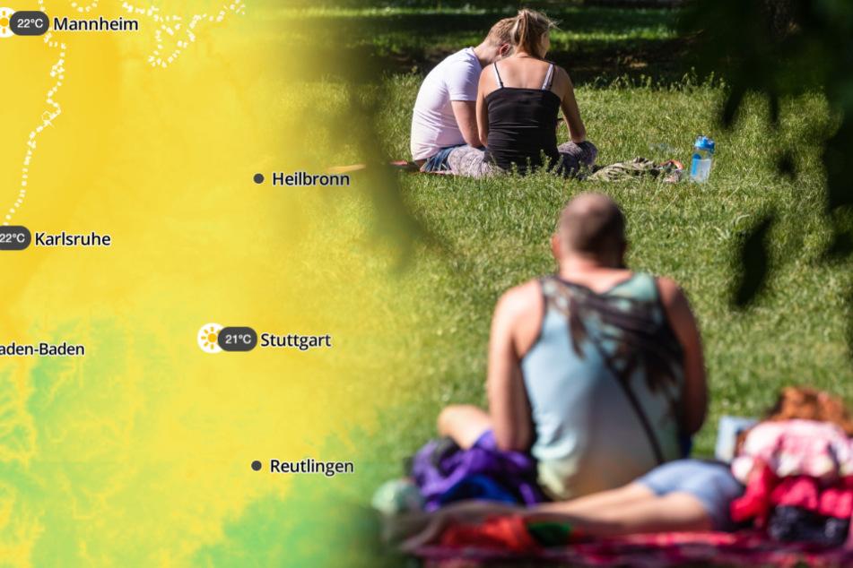 Sommerlich! Auf dieses Wetter dürfen sich die Baden-Württemberger freuen