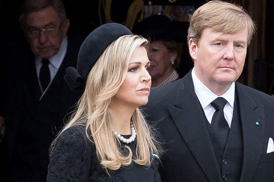 Königin Máxima und König Willem-Alexander durchleben schwere Zeiten.