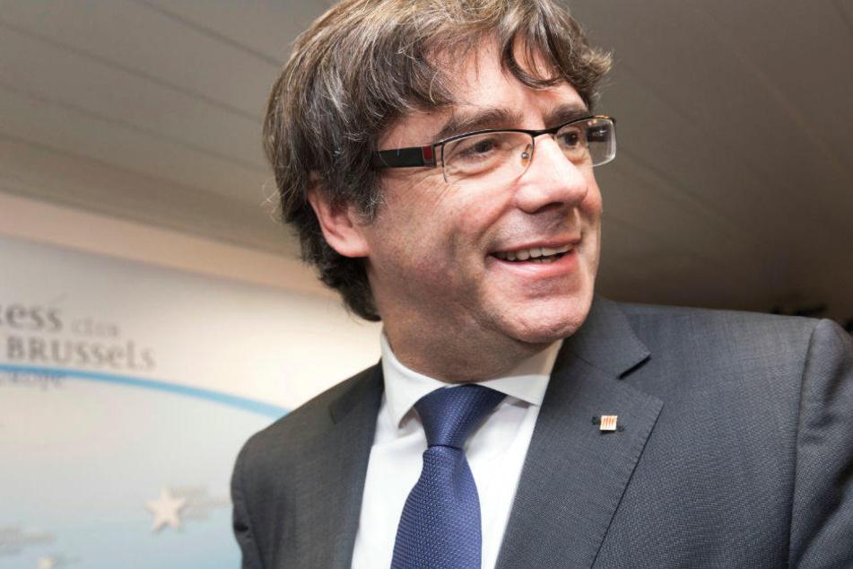 Carles Puigdemont ist wieder auf freiem Fuß.