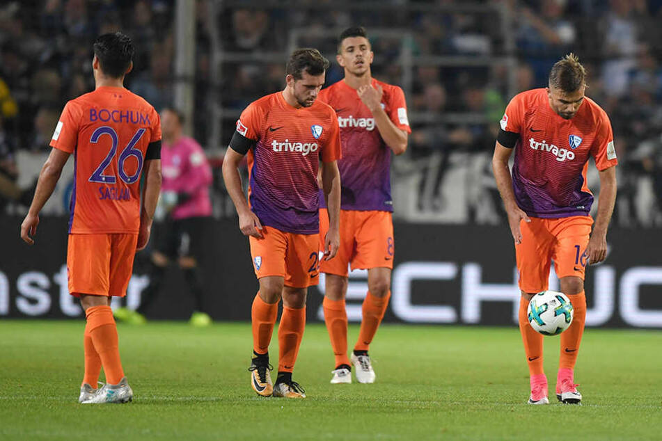 Im April brachte Anthony Losilla  (hinten, Mitte) seinen VfL mit diesem Treffer zum 3:2 auf die Siegerstraße.