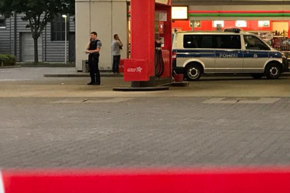 Die Polizei konnte den Mann kurz nach dem Überfall festnehmen.