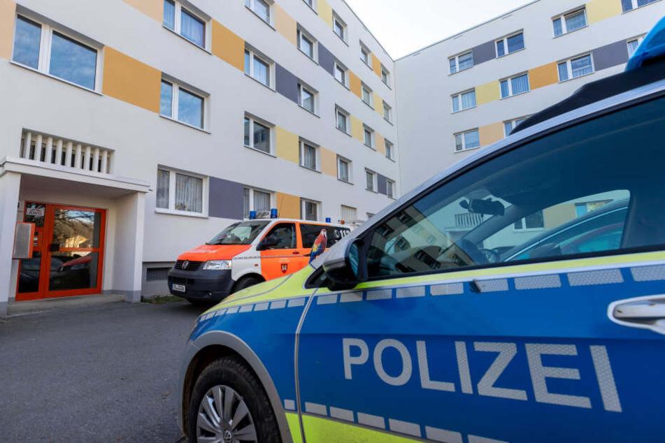 In diesem Wohnhaus in der Straße der Deutschen Einheit wurde das tote Baby gefunden.