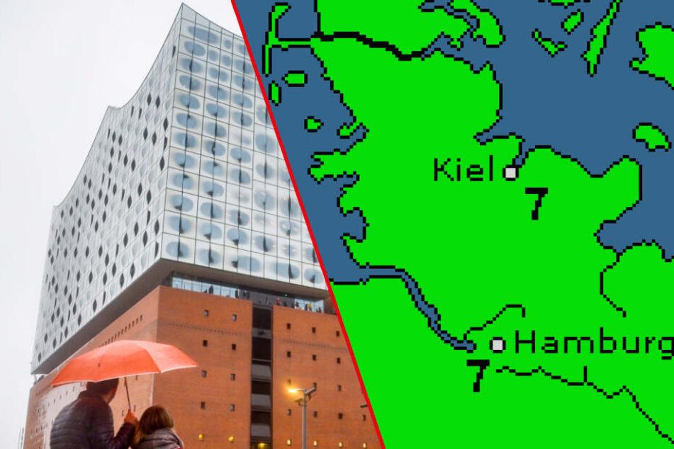 Wie lange hält das Schietwetter in Hamburg noch an?