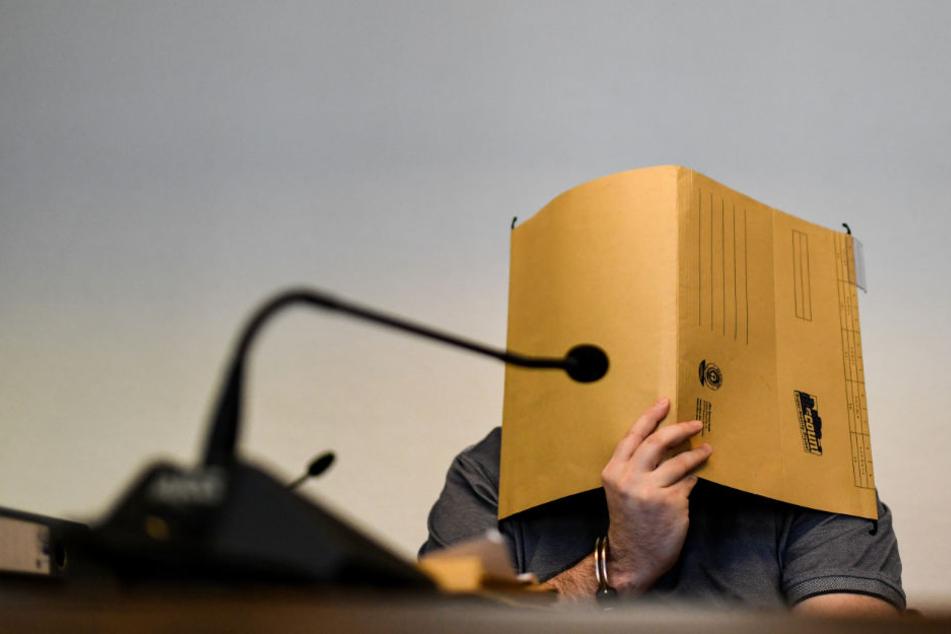 Der 33-Jährige vor Gericht.
