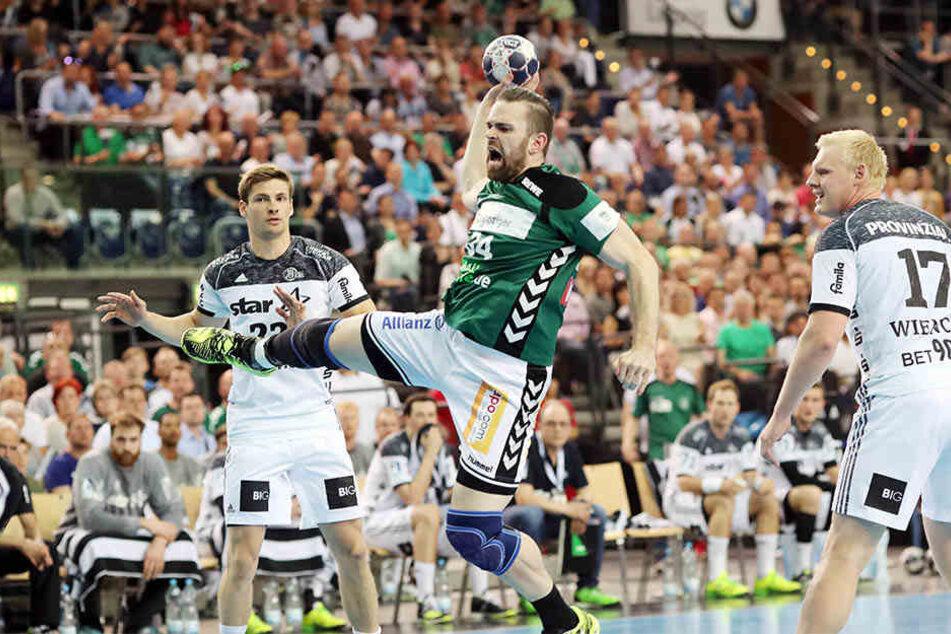 Der THW Kiel ging in der Arena Leipzig gegen den SC DHfK unter.