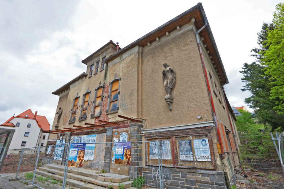 """Das """"Capitol"""" in Zwickau steht bereits seit 25 Jahren leer. Nun will die SPD dem Gebäude neues Leben einhauchen."""