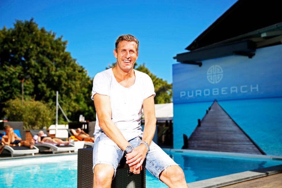 """Christian von Canal (51) freut sich auf die neue Location für seine """"Puro""""-Clubreihe."""