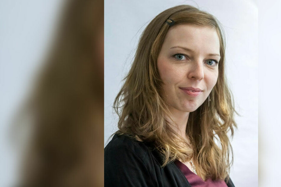 VMS-Sprecherin Jeanette Kiesinger (32).