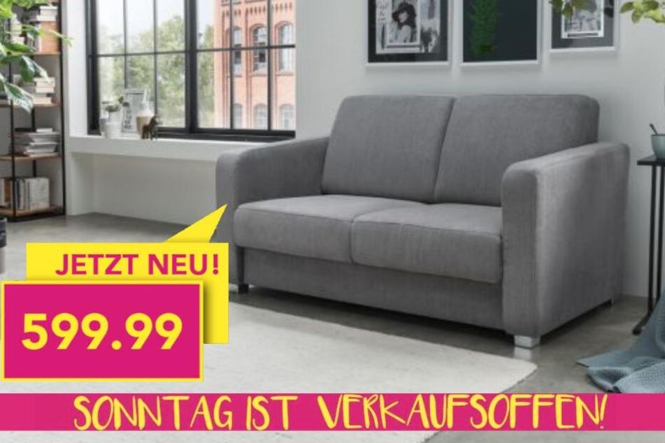 20 Prozent bekommt Ihr auf einen Artikel Eurer Wahl. Zum Beispiel kostet das Sofa Mia dann nur noch 599,99 Euro!