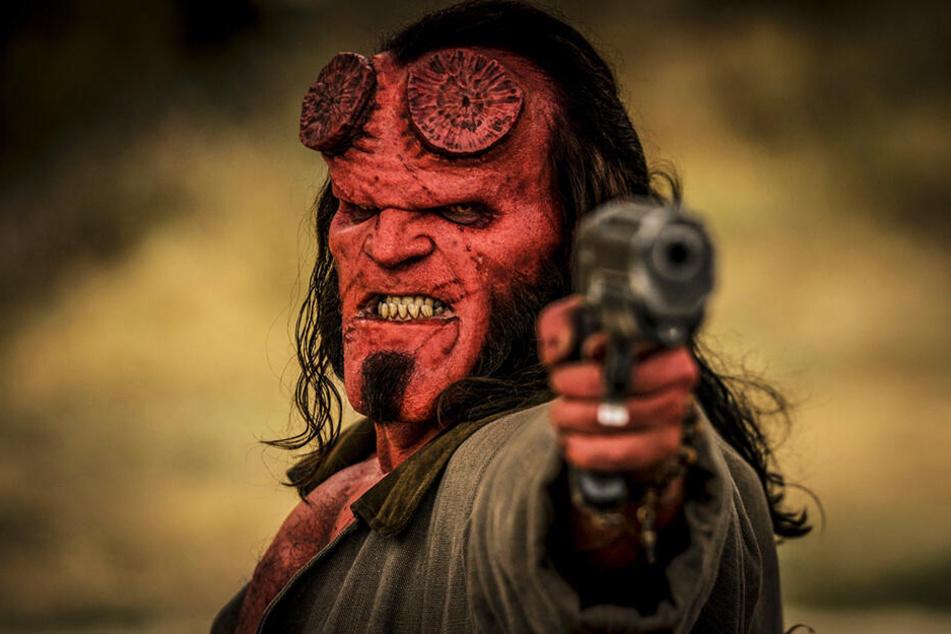 """Der neue """"Hellboy""""-Film kam bei vielen Kritikern überhaupt nicht gut an."""