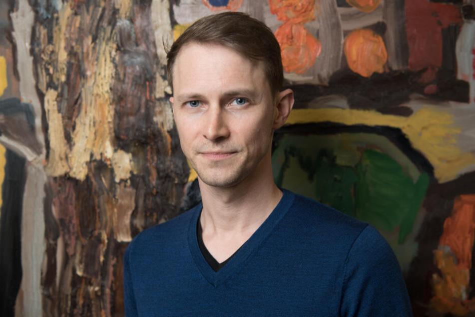 """Drehbuchautor Oliver Kienle, aufgenommen beim Interviewtag zur zweiten Staffel """"Bad Banks""""."""