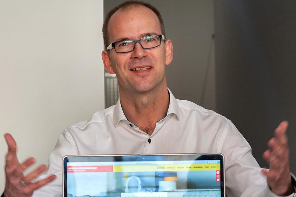 CWE-Chef und Jurymitglied Sören Uhle (43) wählte die Projektsieger für freie Kreativflächen mit aus.