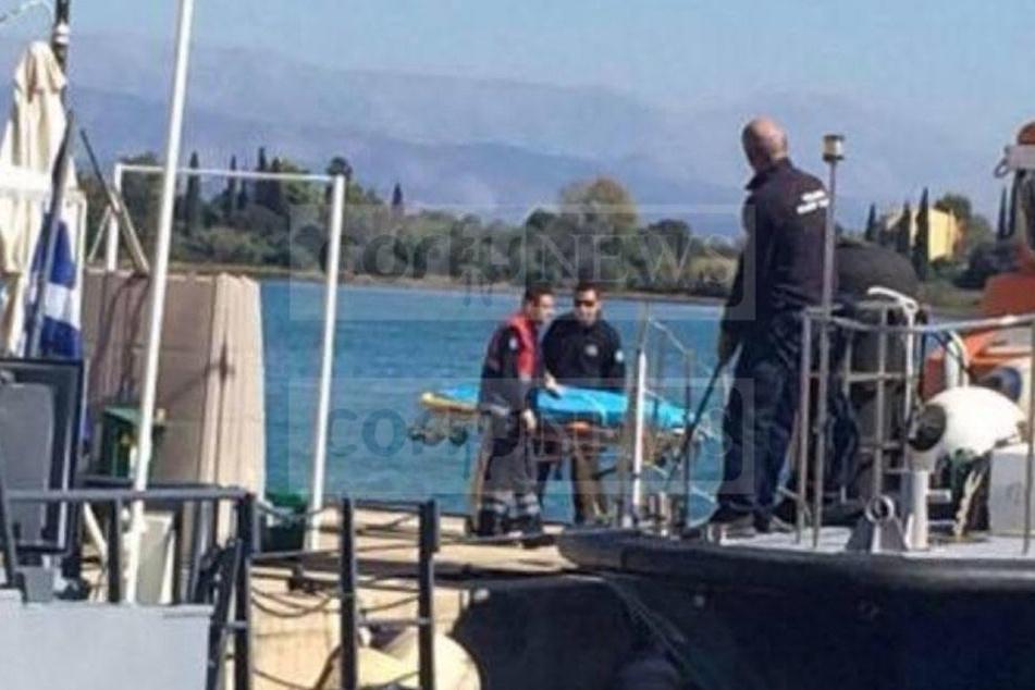 Die Küstenwache fand die Frau nahe der Insel Ereikousa.