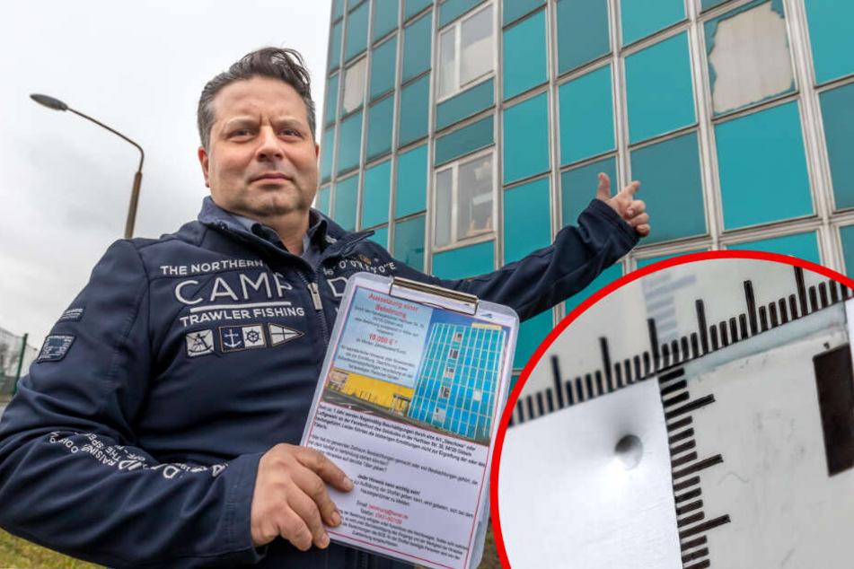 Chemnitz: 15 Attacken auf Versandhändler: Firmenchef setzt 10.000 Euro Kopfgeld aus