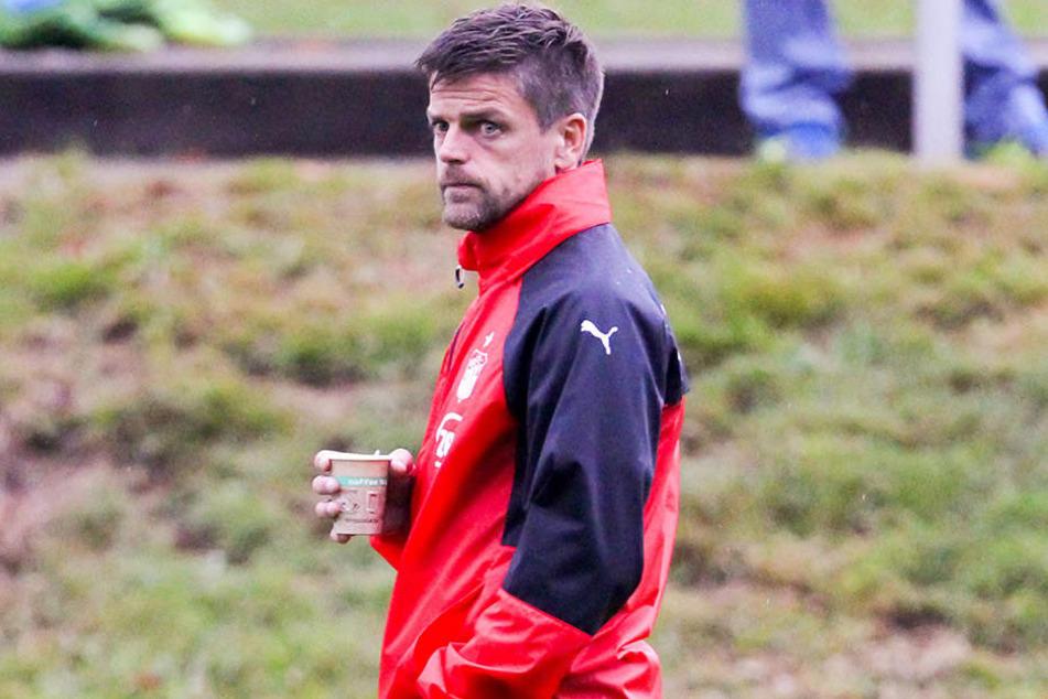 Abwarten und Tee trinken sind für FSV-Trainer Torsten Ziegner derzeit keine Optionen.